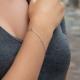 Zirkonia Armband Weiß