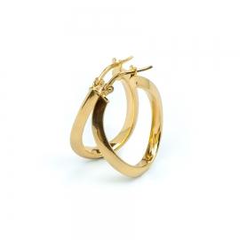 SWING Creolen Oval Gold