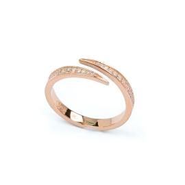 Zirkonia Ring Rosé