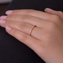 FINE Zirkonia Ring Rosé