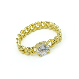 CHAIN Ring Gelb