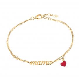 MAMA Armband Gold