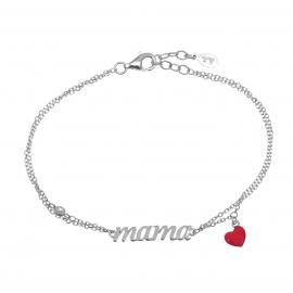 MAMA Armband Silber