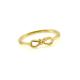 Maschen Ring Gelb