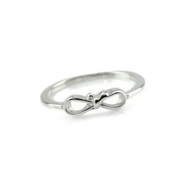 Maschen Ring Weiß
