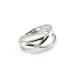 Mehr-Weg Ring Weiß