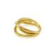 Mehr-Weg Ring Gelb