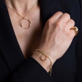 Ring Halskette