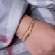 Perlen CHAIN Armband