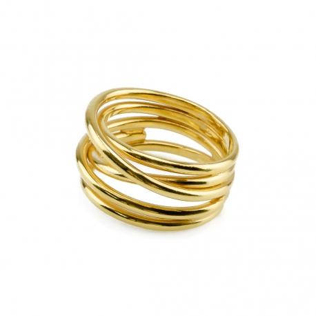 Mehrsträngiger Ring Gelb