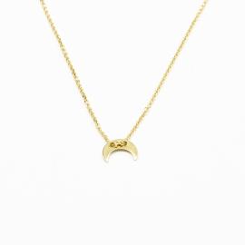 Sichelmond Kette Gold