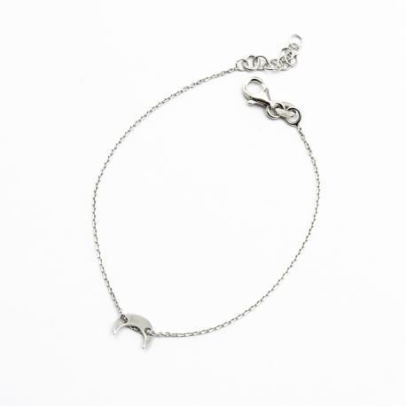 Sichelmond Armband Silber