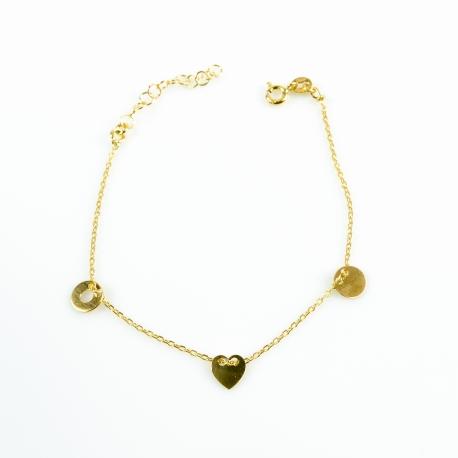 3on1 Armband Gelb