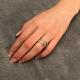 Wickel Ring Weiß