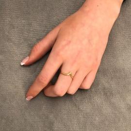 Ausreißer Ring Gelb